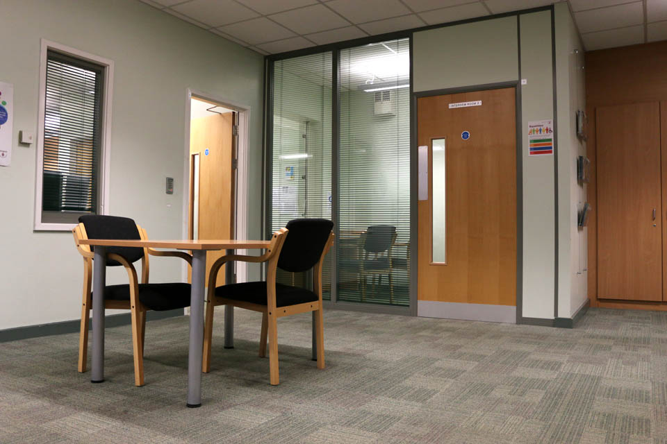 Long Eaton interview rooms