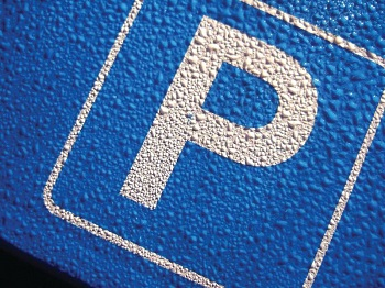 A car parking sign